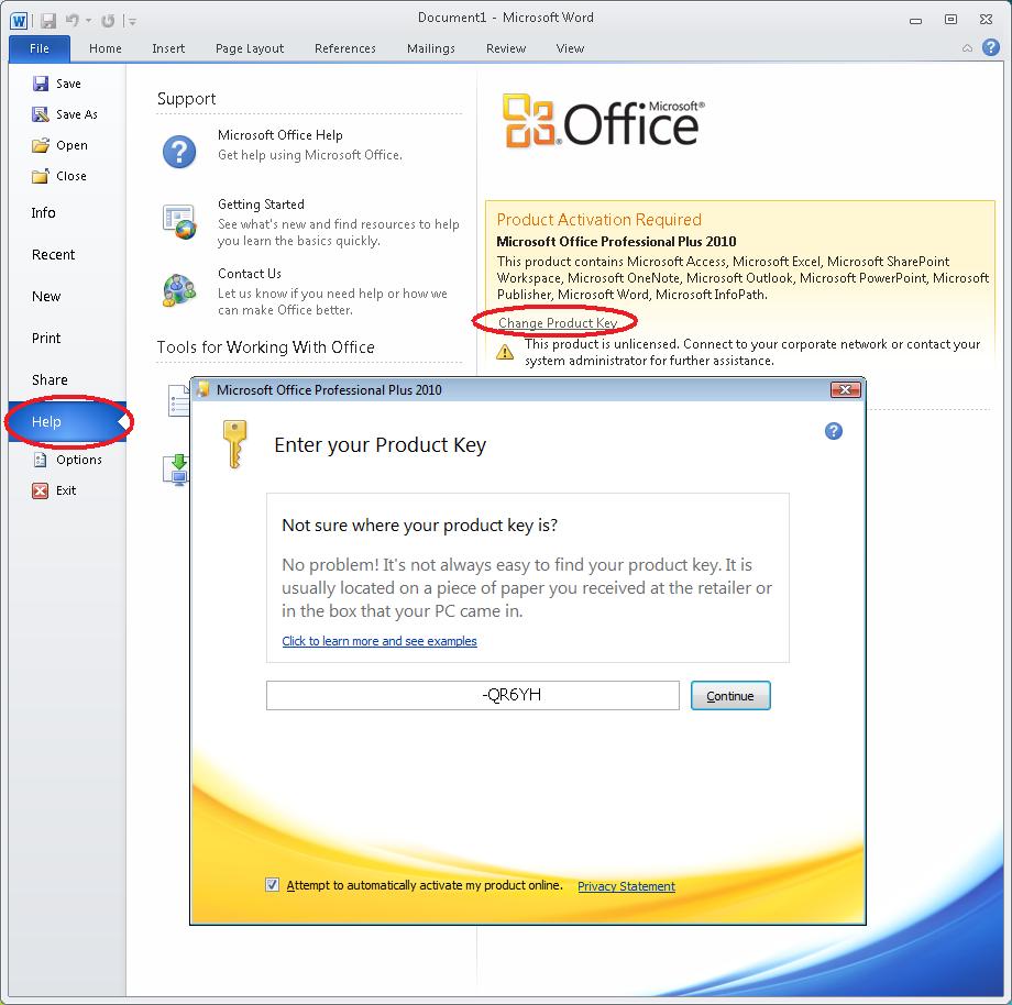 Blog archives websinternet - Office professional plus 2010 activation ...