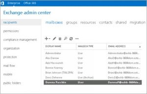 Office 365 Exchange Admin