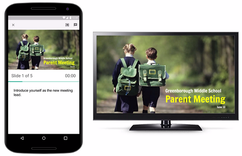 Google Slides now supports Chromecast and AirPlay