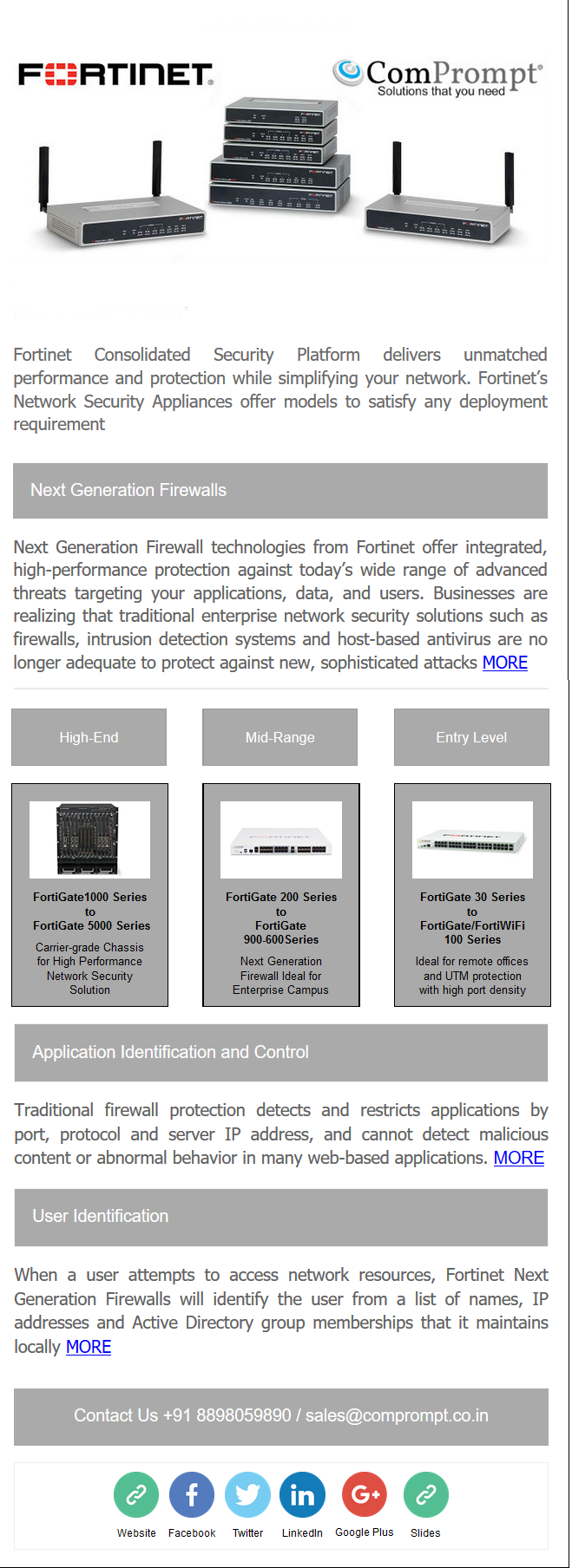 fortinet mailer