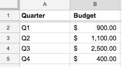 Accounting number formats 2