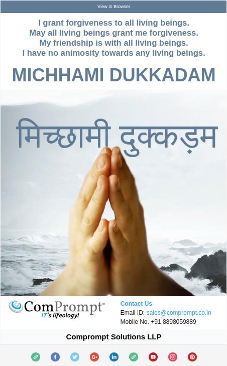 Michhami Dukkadam 2017