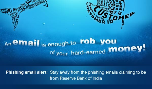 Phishing alerts